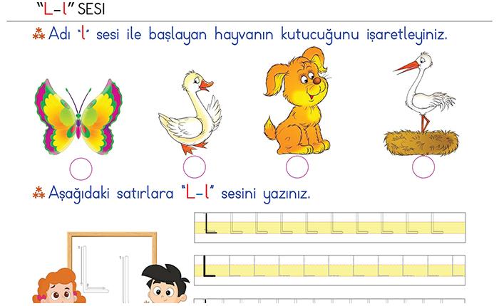 L Sesi 1 Sınıf Ilk Okuma Yazma Morpa Kampüs