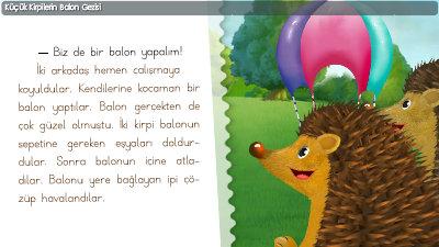 Küçük Kirpilerin Balon Gezisi