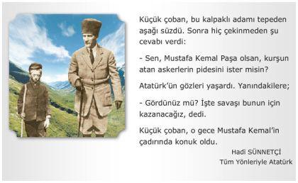 Atatürk'le Çoban