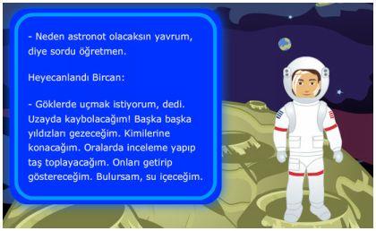 Astronot Bircan