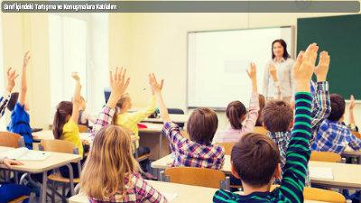 Sınıf İçindeki Tartışma ve Konuşmalara Katılalım