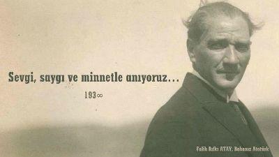 Mustafa Kemal'i Düşünüyorum