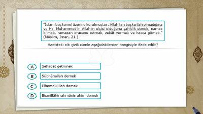 İslam'ın Şartları 1