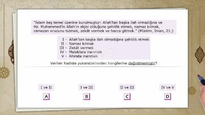 İslam'ın Şartları 2