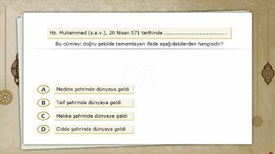 Hz. Muhammed'in (s.a.v.) Doğumu, Çocukluk ve Gençlik Yılları 1