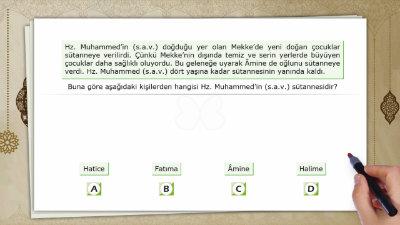 Hz. Muhammed'in (s.a.v.) Doğumu, Çocukluk ve Gençlik Yılları 2