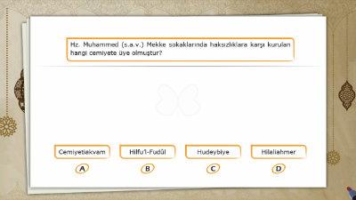 Hz. Muhammed'in (s.a.v.) Çocukluk ve Gençlik Yıllarındaki Erdemli Davranışları 1