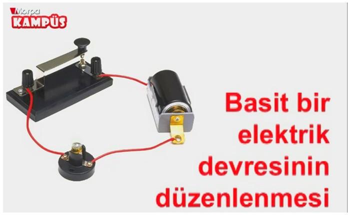 Basit Bir Elektrik Devresinin Düzenlenmesi