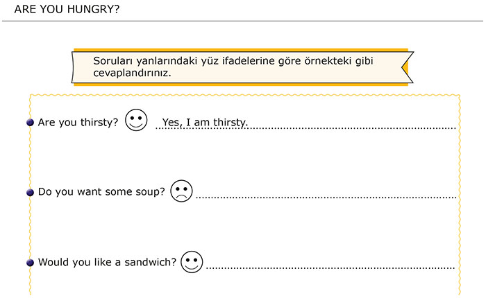 Are You Hungry? / Aç Mısın?