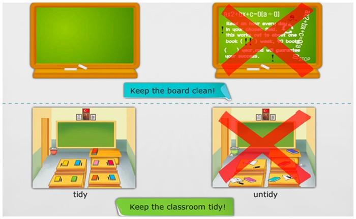 Classroom Instructions / Sınıf Yönergeleri