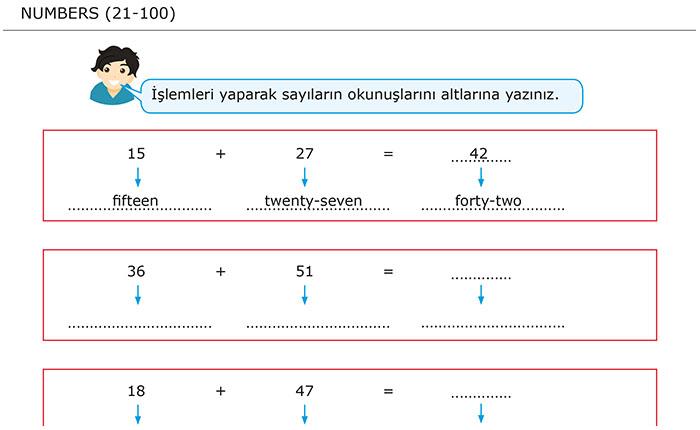 Numbers (21-100) / Sayılar (21-100)
