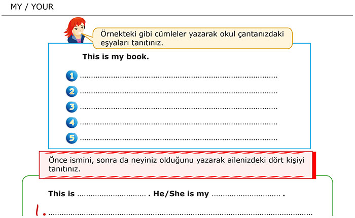 My - Your / Benim - Senin