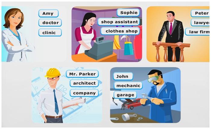 Jobs / Meslekler