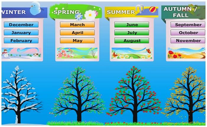 Seasons and The Weather / Mevsimler ve Hava