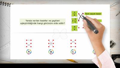 Kesir Çeşitlerini Öğrenelim ve Modelle Gösterelim 2