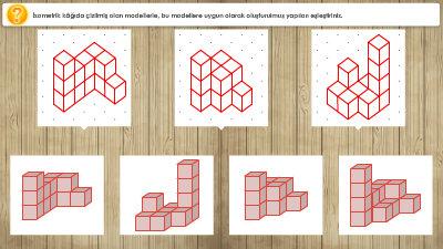 Çizimi Verilen Modellere Uygun Yapılar Oluşturalım