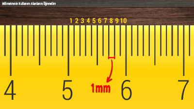 Milimetrenin Kullanım Alanlarını Öğrenelim
