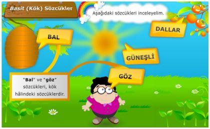 Sözcük Bilgisi - Basit Sözcükler - Sözcüklerde Kök ve Ek Uyumu - Çekim Ekleri