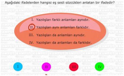 Eş Sesli Sözcükler - Deyimler - Terimler - Arasözleri - Özdeyiş 3