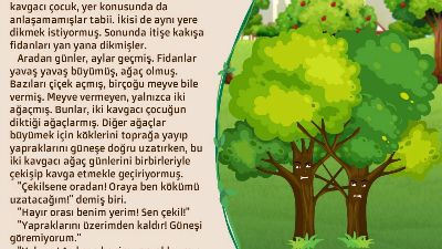 İki Kavgacı Ağaç