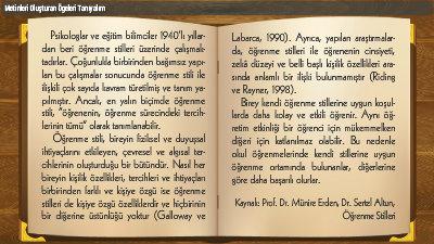 Metinleri Oluþturan Ögeleri Tanýyalým