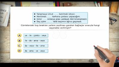 Sözcükleri ve Cümleleri Birbirine Bağlayan Sözcükler (Bağlaçlar) 1