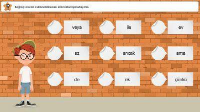 Sözcükleri ve Cümleleri Birbirine Bağlayan Sözcükler (Bağlaçlar)