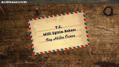 Millî Eğitim Bakanı ve Atatürk