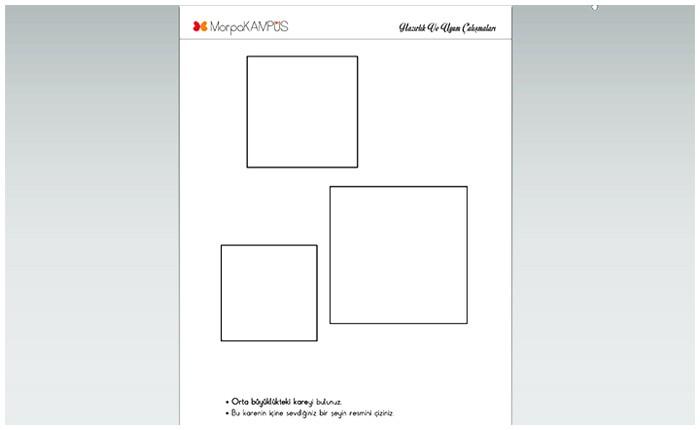 1 Sınıf Cuma Uyum Ve Hazırlık Etkinlik Sayfaları Morpa Kampüs