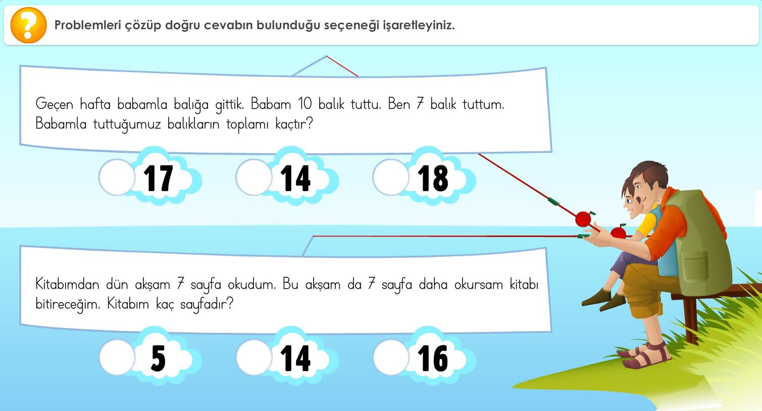 1. Sınıf Matematik Çalışmaları