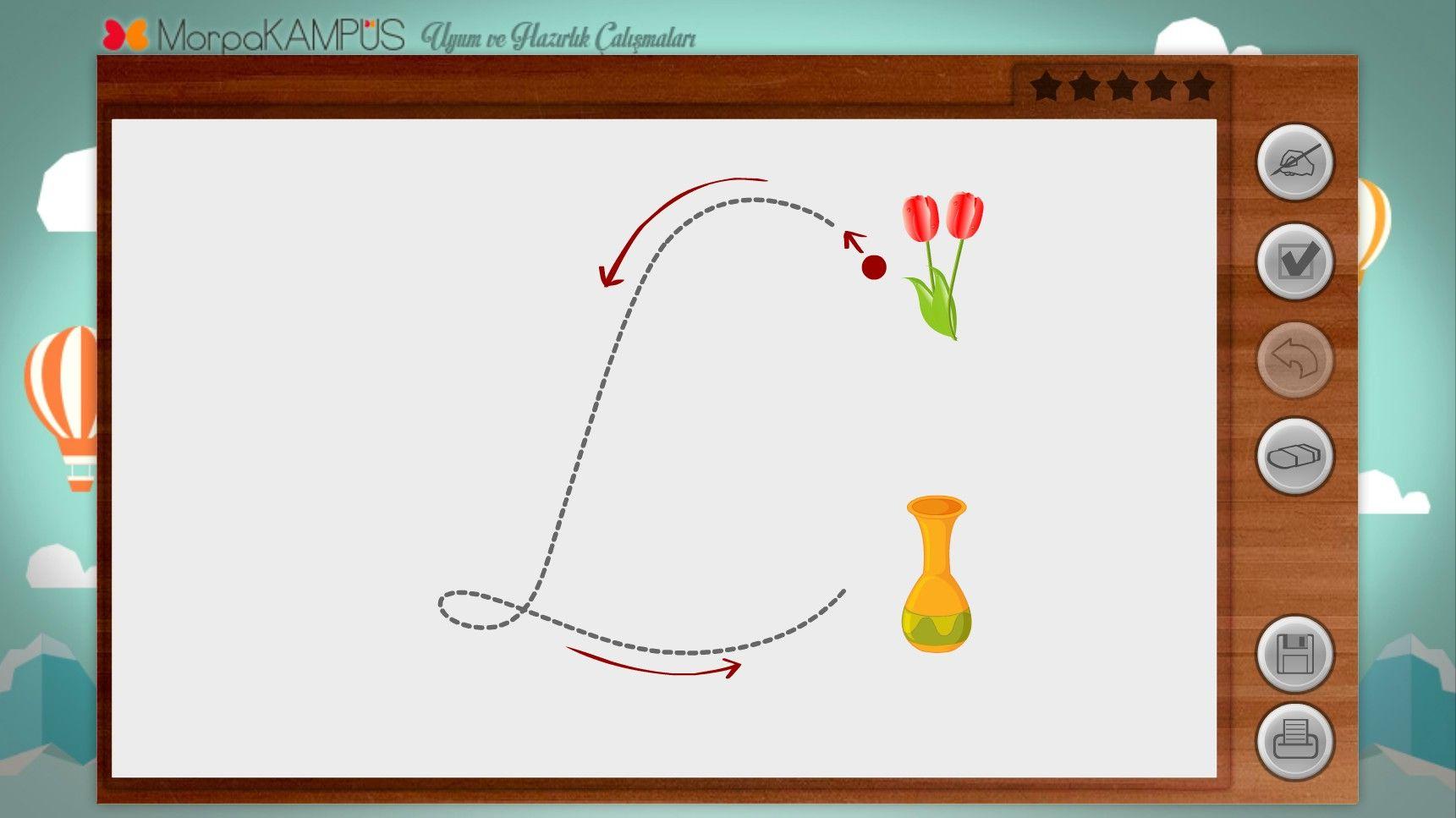 1. Sınıf Çizgi Çalışmaları