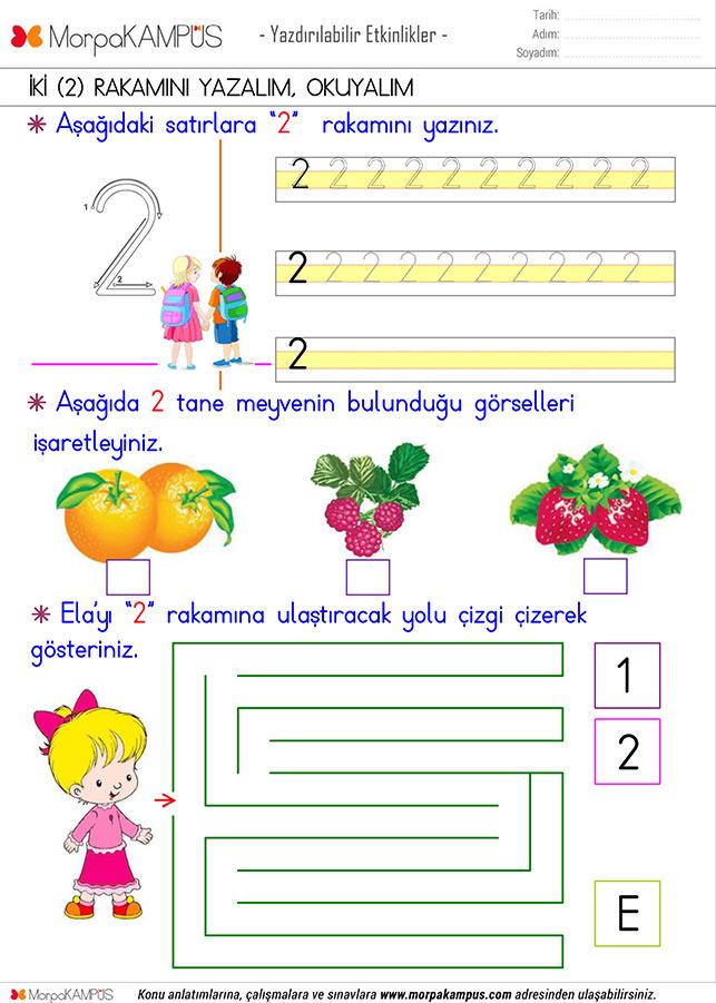 1. Sınıf Matematik Ödevi