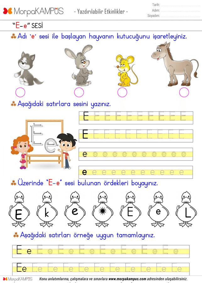 1. Sınıf Türkçe Ödevi