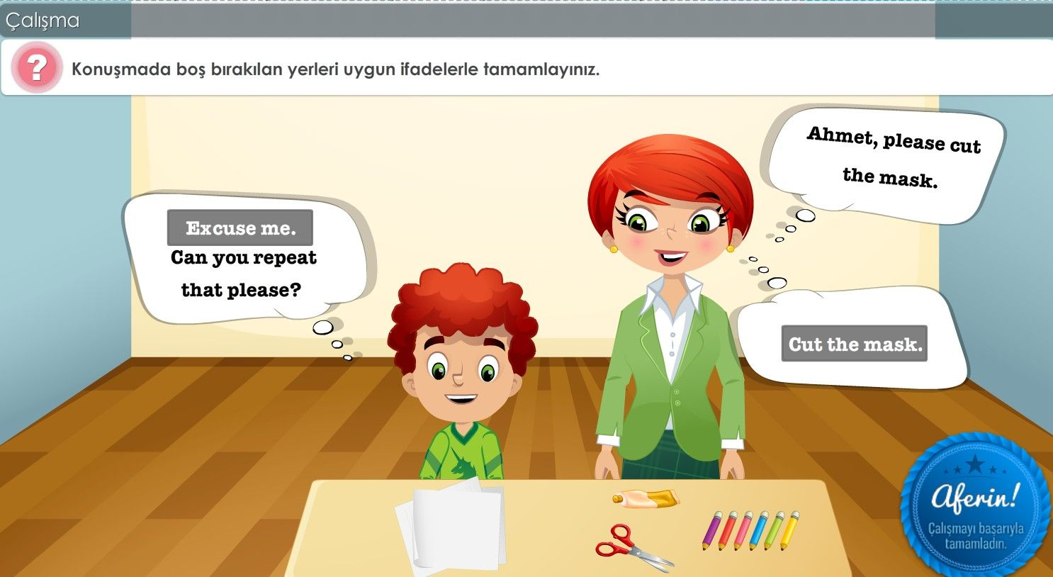 2. Sınıf Türkçe Çalışmaları
