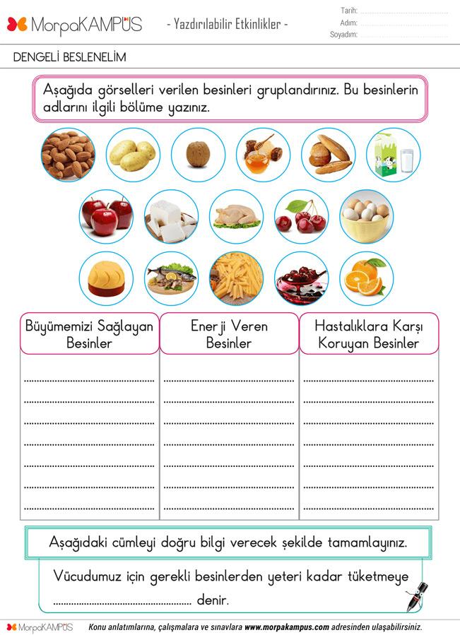 2. Sınıf Türkçe Ödevi