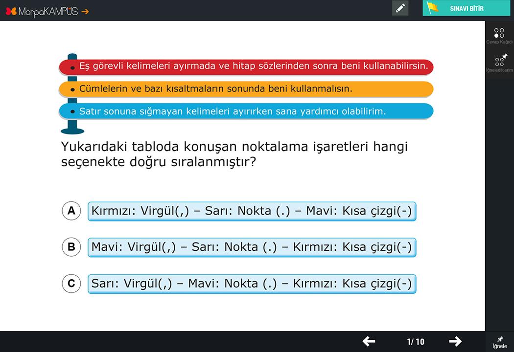 2. Sınıf Türkçe Test Soruları
