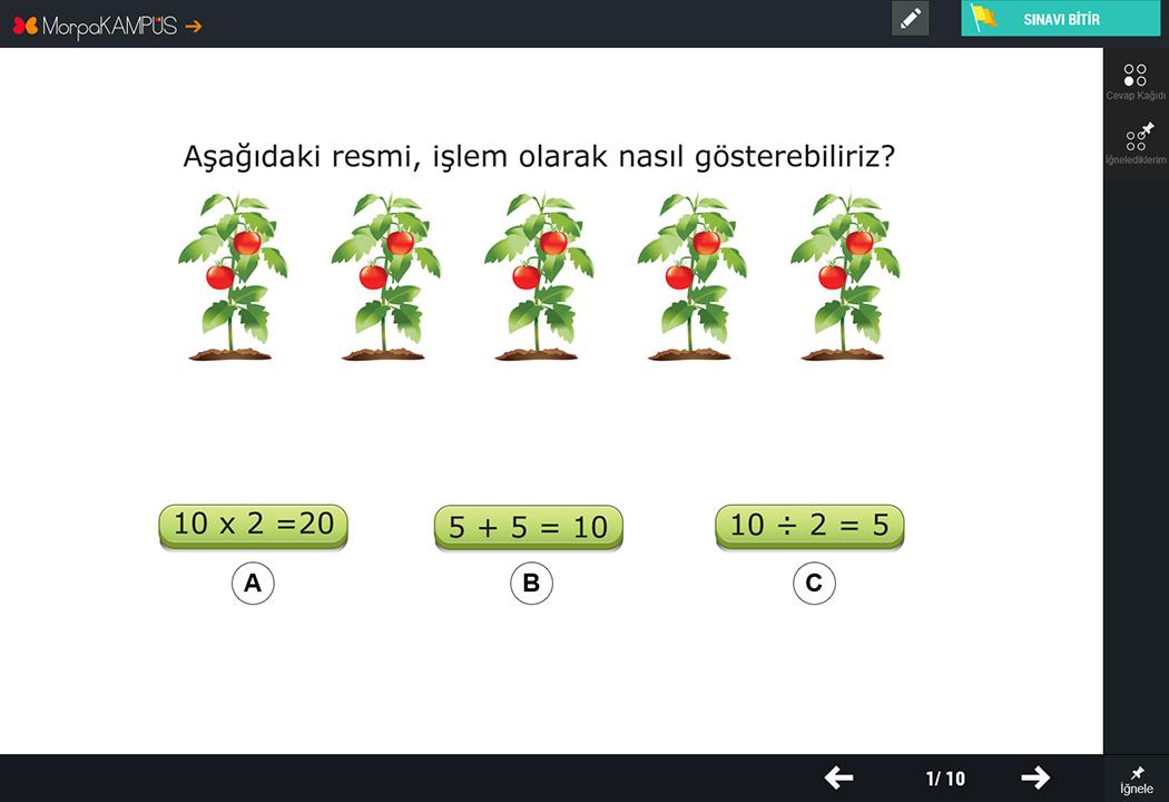 2. Sınıf İngilizce Soruları