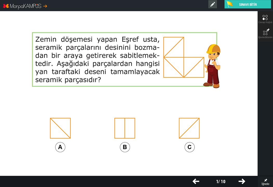 2. Sınıf Matematik Test Sorusu