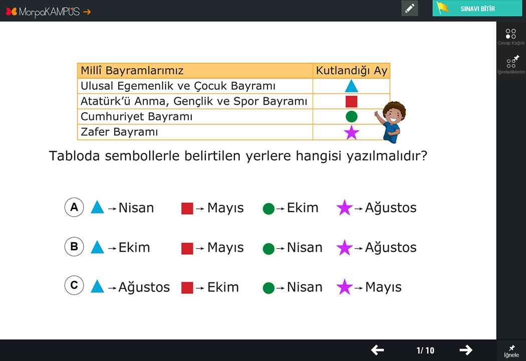 2. Sınıf Türkçe Soruları