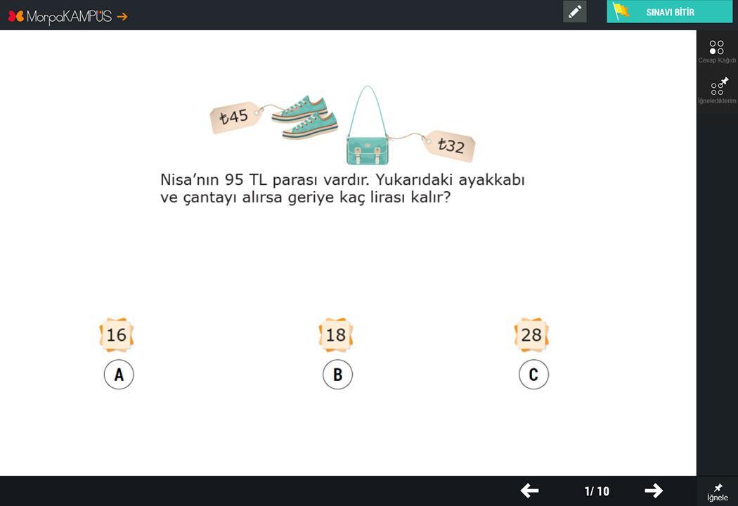2. Sınıf Matematik Testleri