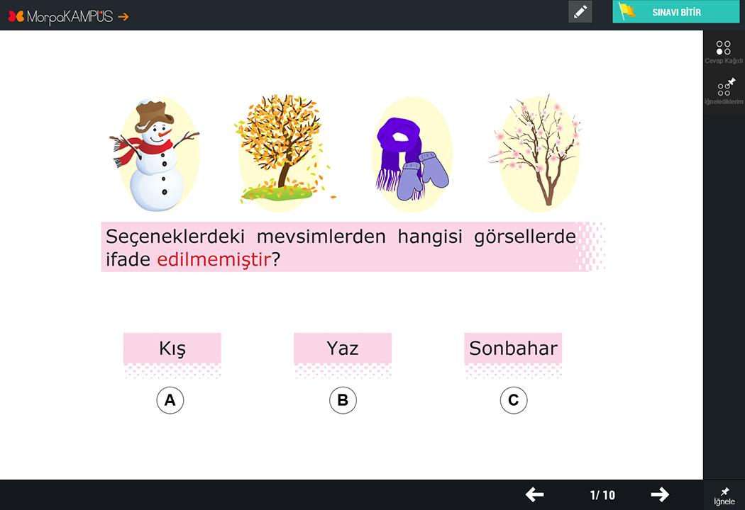 3. Sınıf İngilizce Test Soruları