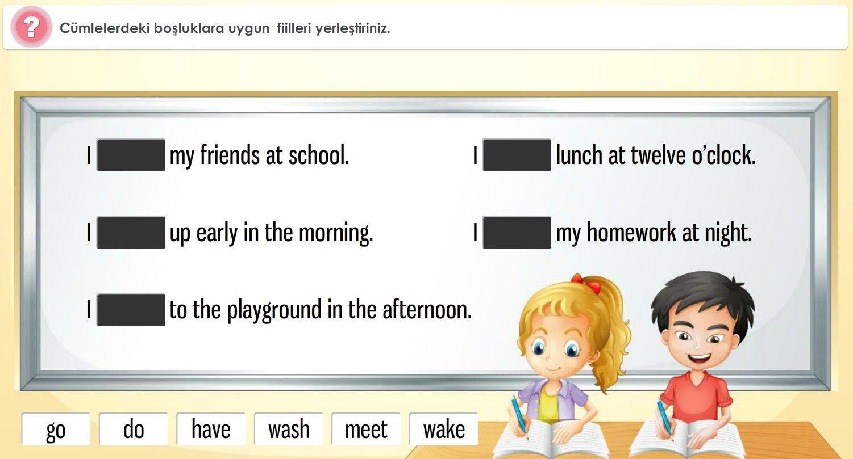 4. Sınıf Türkçe Çalışmaları