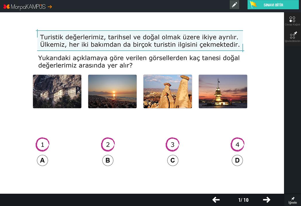 4. Sınıf Türkçe Test Soruları