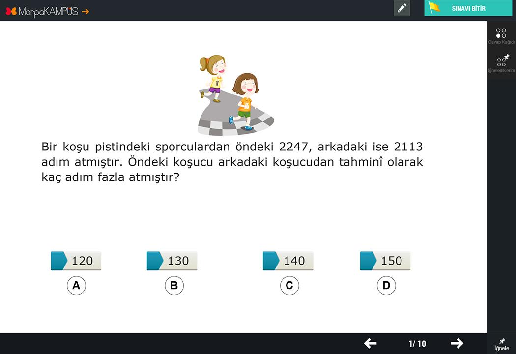 4. Sınıf Fen Bilimleri Test Sorusu