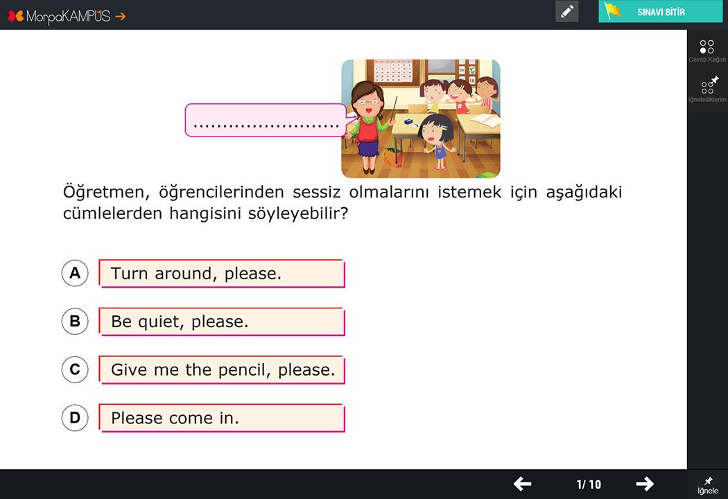 4. Sınıf Fen Bilimleri Soruları