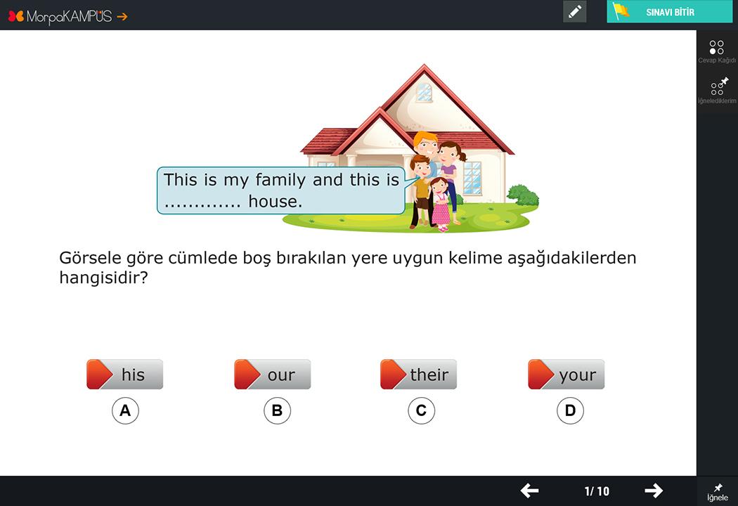 4. Sınıf Sosyal Bilgiler Test Sorusu