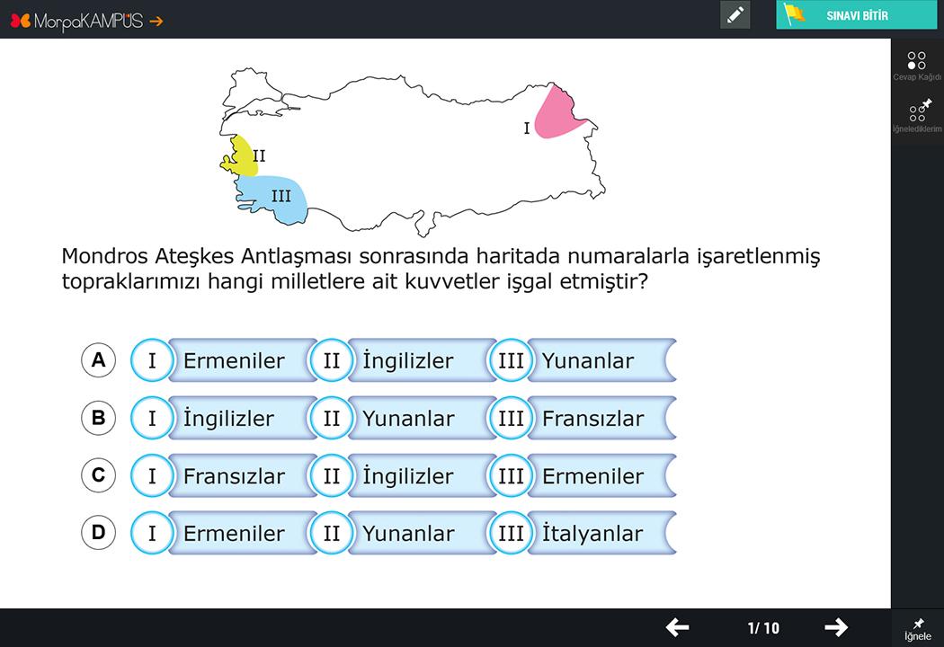 4. Sınıf İngilizce Testleri