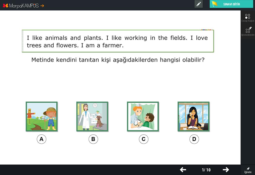 4 Sınıf Konu Anlatımları Ve Testleri Morpa Kampüs