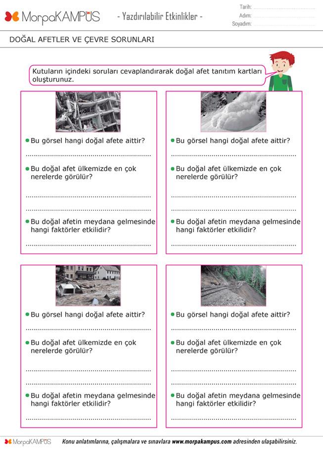 5. Sınıf Sosyal Bilgiler Ödevi