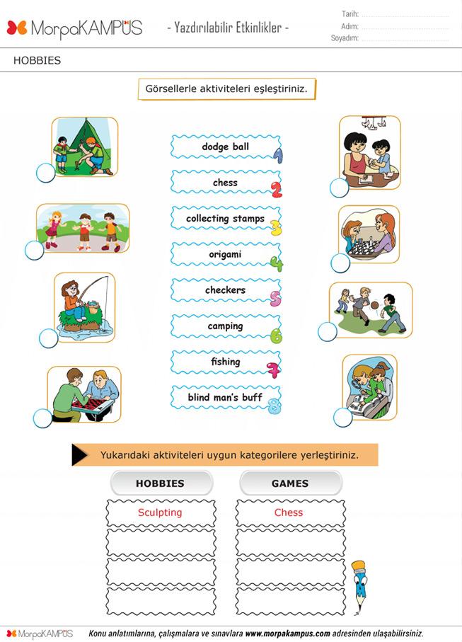 5. Sınıf Fen Bilimleri Ödevi
